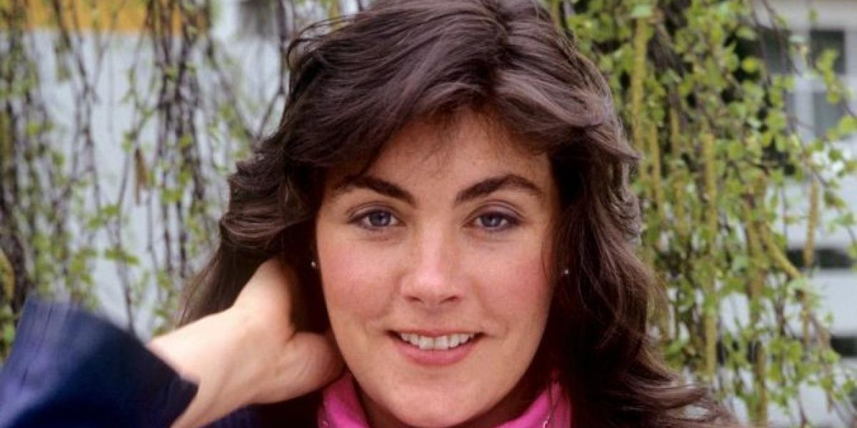 Laura Branigan on 21.04.1983 in Bremen. (Photo by Fryderyk Gabowicz/picture alliance via Getty Images)