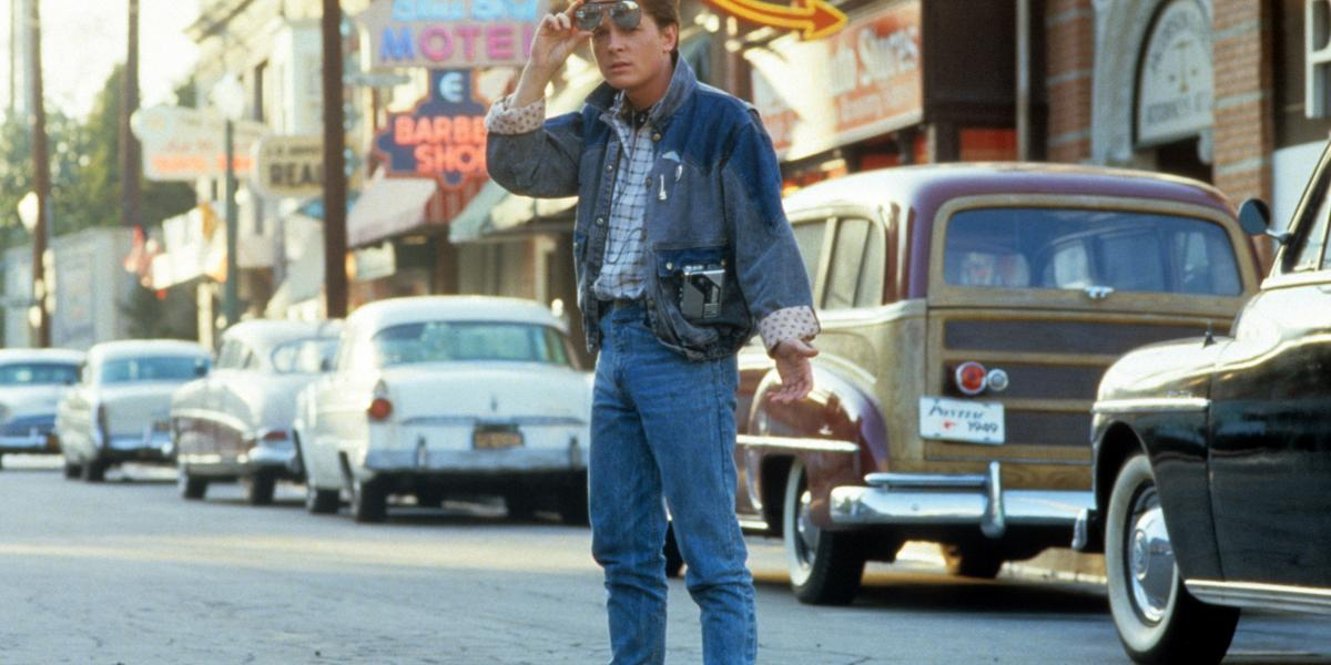 Michael J. Fox in 'Back to the Future.'