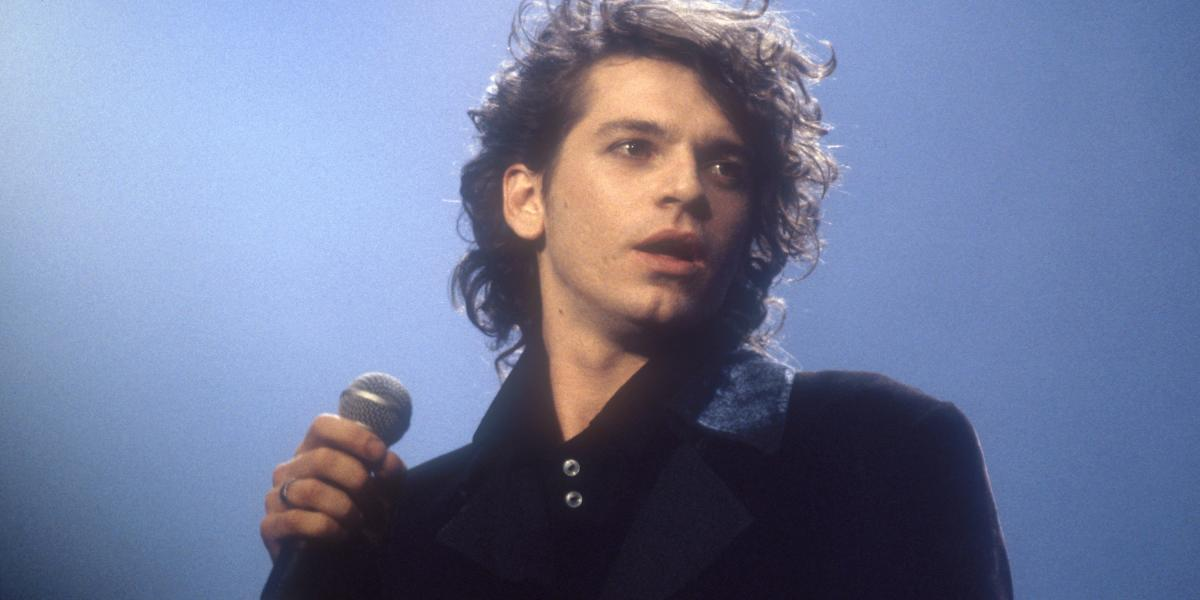 Michael Hutchence in 1985.