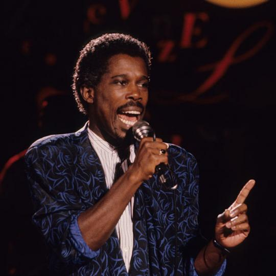 Billy Ocean Performs Live in Concord California 1985 (Photo by Mark Downey Lucid Images/Corbis via Getty Images)