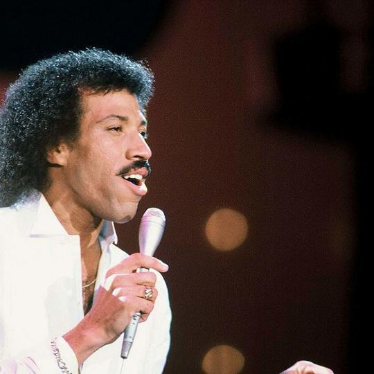 "10/23/1982, Lionel Ritchie performs ""Truly "" on Americqn Bandstand., (Photo by Walt Disney Television via Getty Images Photo Archives/Walt Disney Television via Getty Images)"