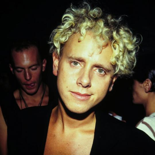 Martin Gore of Depeche Mode at Club USA, New York, New York, September 23, 1993. (Photo by Steve Eichner/Getty Images)