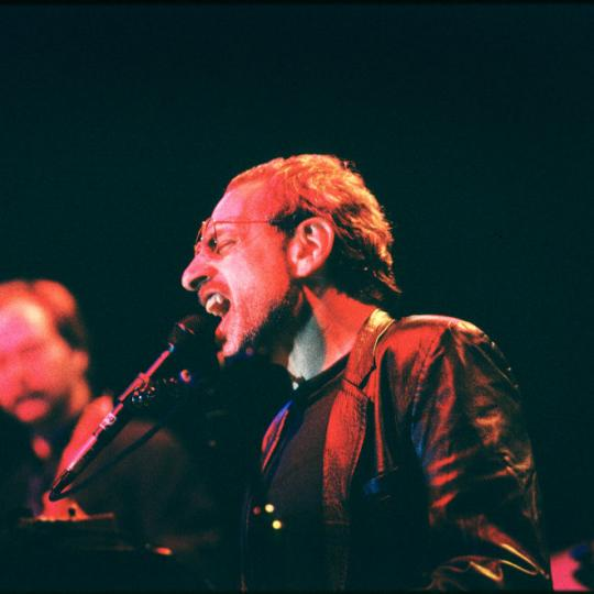 Steely Dan, Walter Becker, Donald Fagen, Roseland Ballroom, New York, USA, 21/10/1995. (Photo by Gie Knaeps/Getty Images)