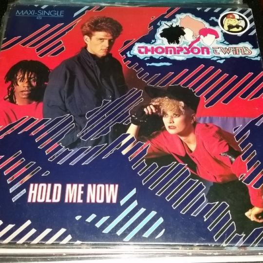 Thompson Twins Hold Me Now single