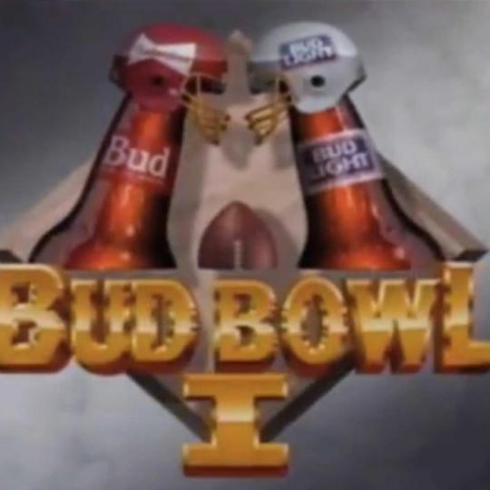 Graphic from Bud Bowl I