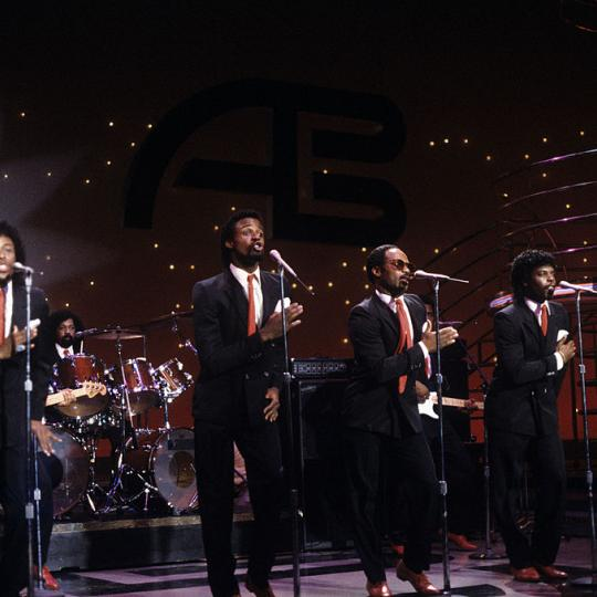 "UNITED STATES - DECEMBER 09: AMERICAN BANDSTAND - Show Coverage - 12/9/82, The Dazz Band on the Walt Disney Television via Getty Images Television Network dance show ""American Bandstand""., (Photo by Walt Disney Television via Getty Images Photo Archives/Walt Disney Television via Getty Images)"