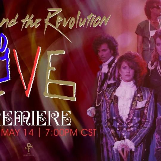 Prince and the Revolution Live is coming y'all