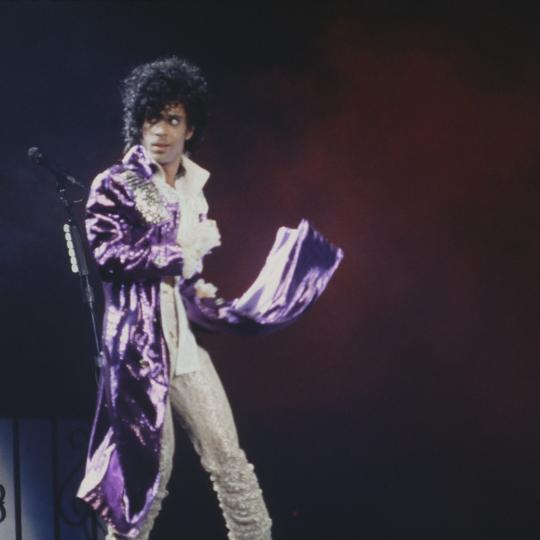 Prince had two Top 10 hits on the chart in October 1984.