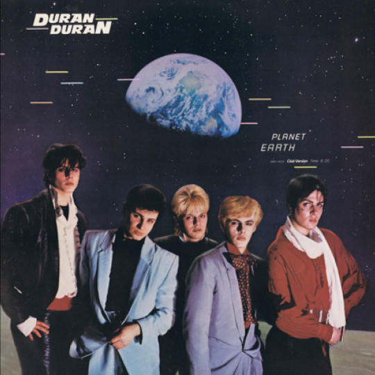 "The international ""Planet Earth"" single sleeve"