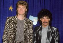 JANUARY 01: Musical performers Daryl Hall and John Oates. (Photo by DMI/The LIFE Picture Collection via Getty Images)