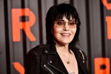 BROOKLYN, NEW YORK - FEBRUARY 06: Joan Jett attends the Bvlgari B.zero1 Rock collection event at Duggal Greenhouse on February 06, 2020 in Brooklyn, New York. (Photo by Steven Ferdman/Getty Images)