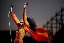 Diana Ross in Central Park 1983