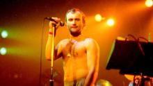 Phil Collins of Genesis during Genesis in 1981 Concert at The Spectrum in Philadelphia, Pennsylvania, United States. (Photo by Jeff Kravitz/FilmMagic, Inc)