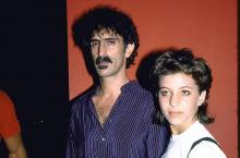 Musician Frank Zappa and daughter Moon Unit. (Photo by David Mcgough/DMI/The LIFE Picture Collection via Getty Images)