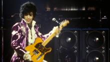 UNITED STATES - SEPTEMBER 13: RITZ CLUB Photo of PRINCE, Prince performing on stage - Purple Rain Tour (Photo by Richard E. Aaron/Redferns)
