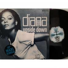 Diana Ross, Upside Down cover art