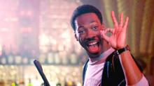 Eddie Murphy in the blockbuster 'Beverly Hills Cop.'