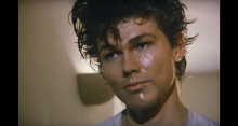 "a-ha frontman Morten Harket in the iconic ""Take on Me"" video"