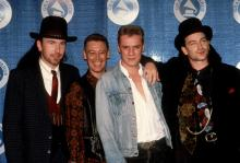 U2 at the 1988 Grammy Awards