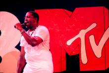 Tone Loc performing for MTV, 1989