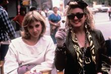 Rosanna Arquette and Madonna in 'Desperately Seeking Susan'