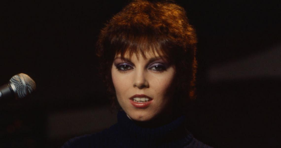 Pat Benatar appearing on 'Good Morning America'. (Photo by Walt Disney Television via Getty Images)