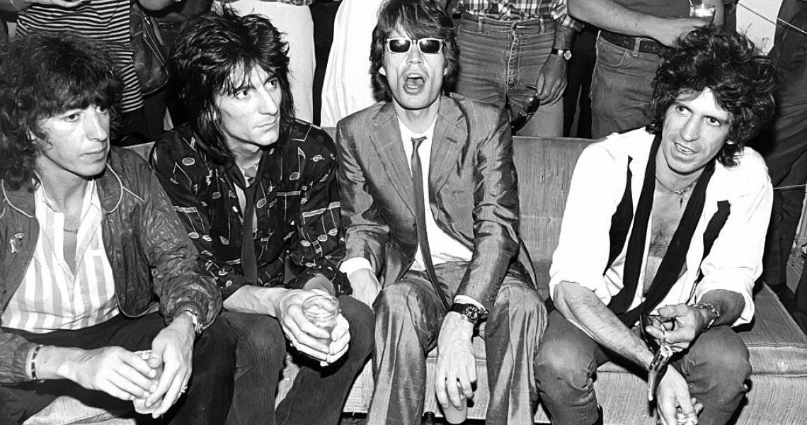 NEW YORK, NY - CIRCA 1980: The Rolling Stones circa 1980 in New York City. (Photo by Allan Tannenbaum/IMAGES/Getty Images)