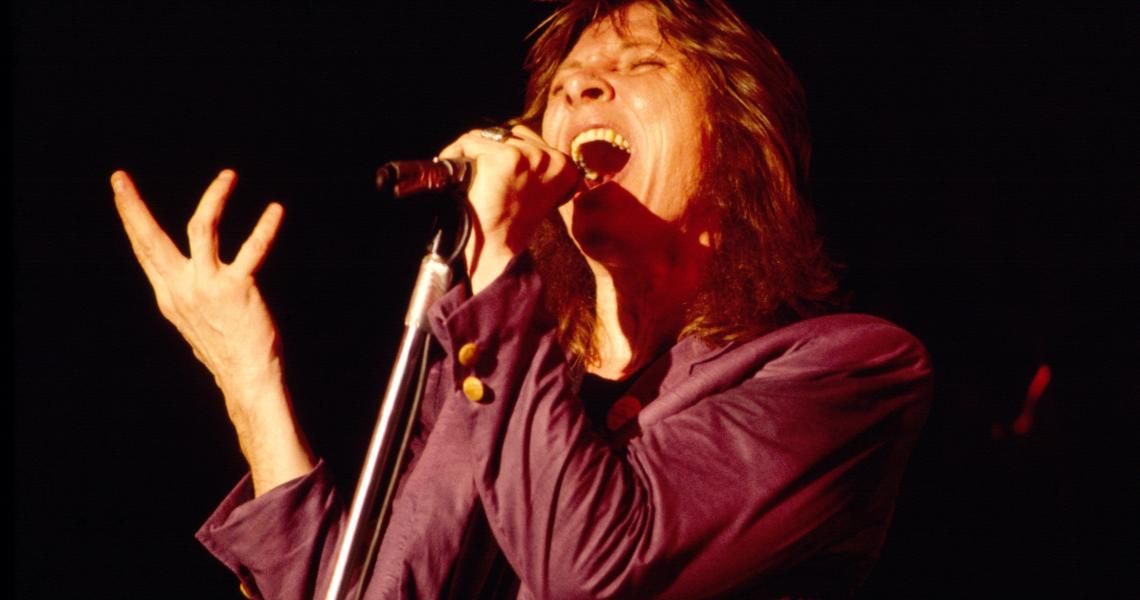 Benny Mardones performs in 1980.