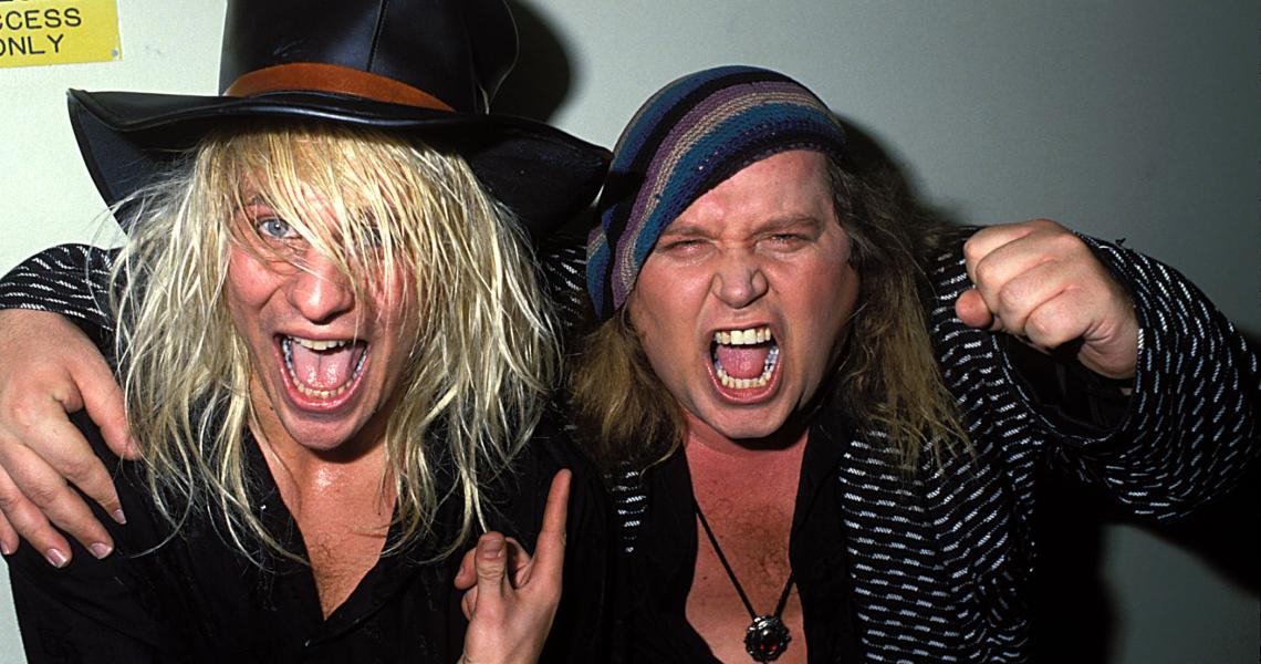 C.C. DeVille and Sam Kinison