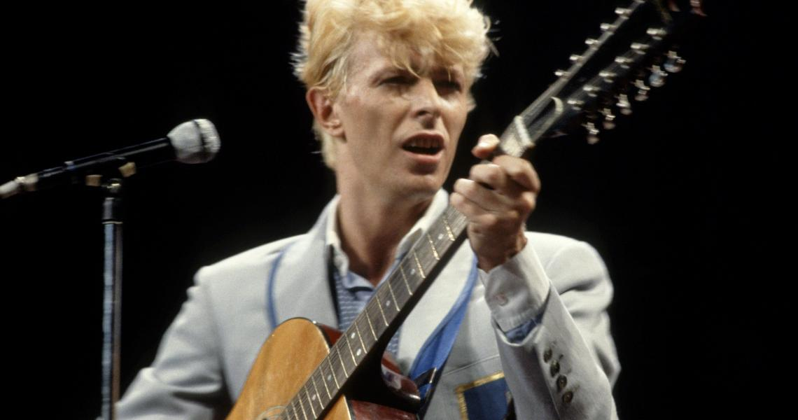David Bowie in 1983